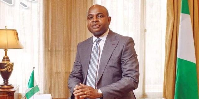 Moghalu says plumber brought a BMW after calling him to fix his toilet