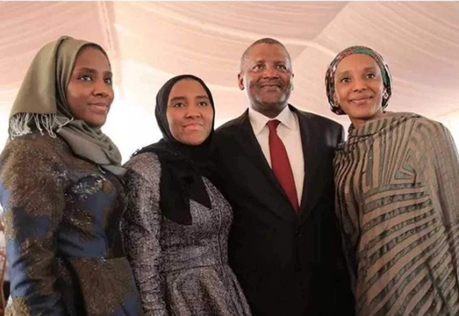 Aliko Dangote family