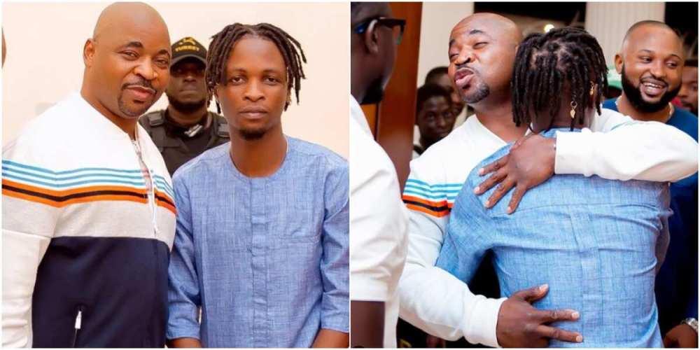 MC Oluomo hosts BBNaija winner Laycon