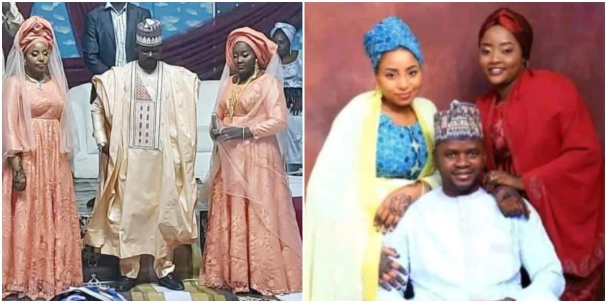 I Enjoy Everything Double Double: Man Who Married 2 Women on the Same Day Says it Stops Side Chick Wahala Nigeria news | Legit.ng