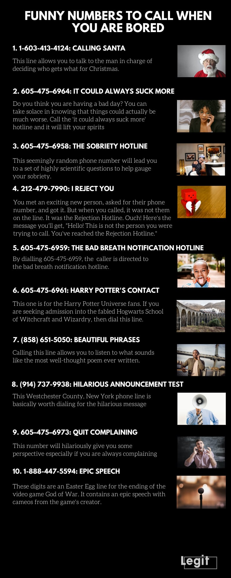Prank Phone Numbers To Give Out : prank, phone, numbers, Funny, Numbers, Bored, Stuck