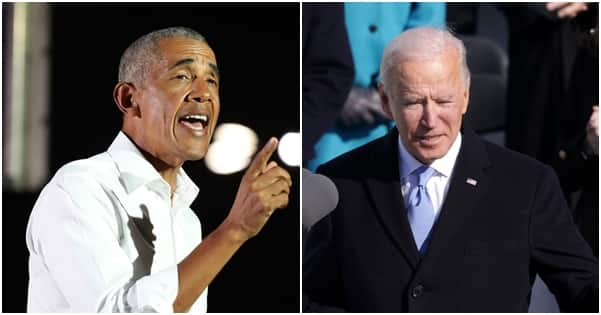 This is your time President Biden, Barack Obama reacts to US inauguration (photo)
