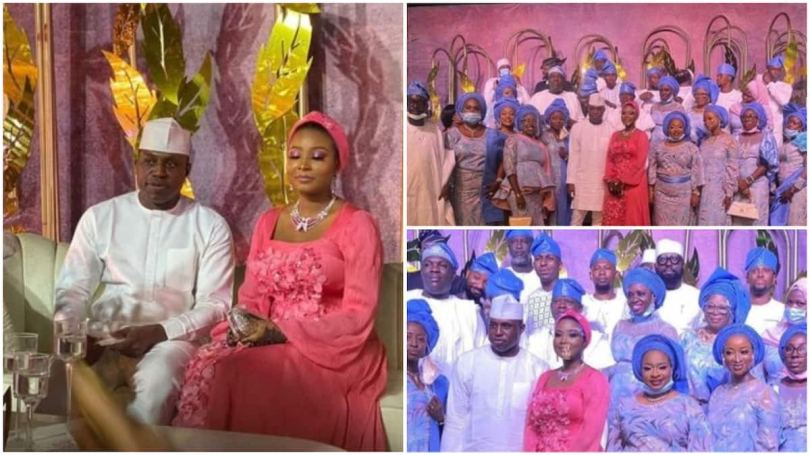 First photos from former Speaker Bankole's wedding with Kebbi governor's daughter