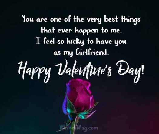 Valentines text for girlfriend