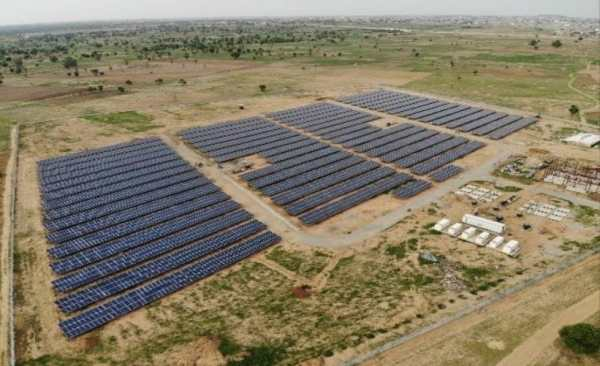 Image result for Osinbajo, Largest Solar Plant In Africa Opens In Bayero University Kano