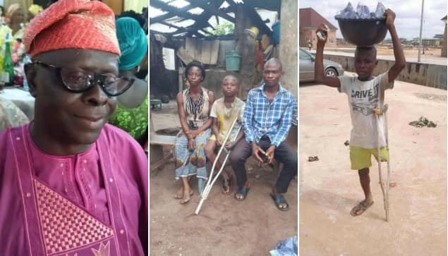 Physically challenged sachet water seller in Ebonyi to get scholarship