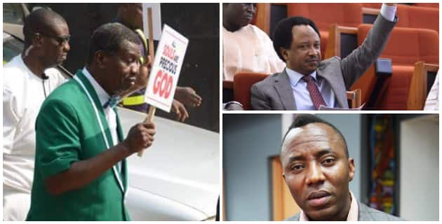 RCCG's prayer walk: Sowore, Shehu Sani commend Pastor Adeboye
