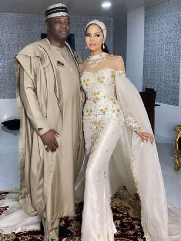 Lovely photos from welcome party of newly married billionaire couple Adama Indimi and Prince Malik Ado-Ibrahim