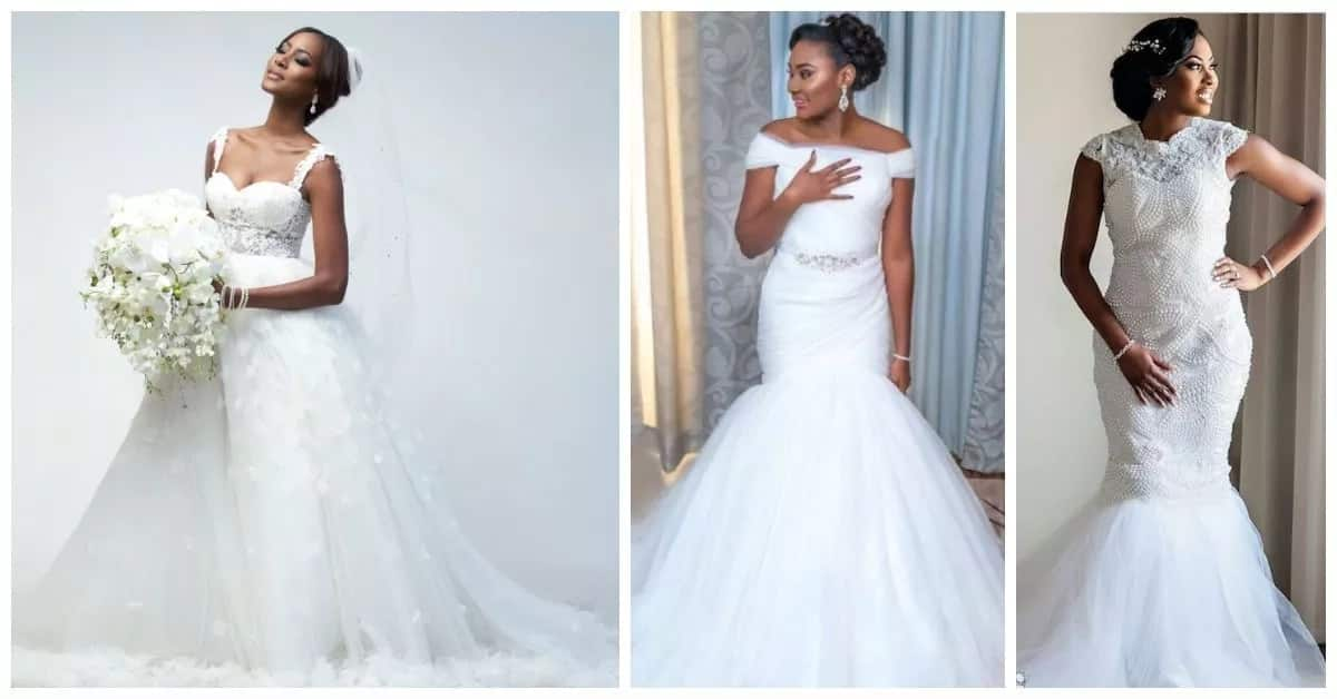 Latest Wedding Gowns In Nigeria 2017-2018 Legit.ng