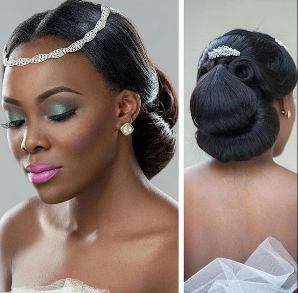 Hair Bangs Nigeria Face Of Sleek Nigeria Off To London For