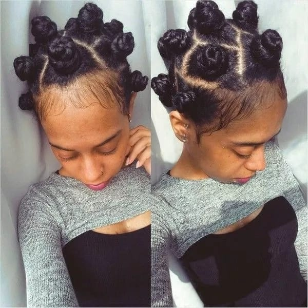 Top 30 Black Natural Hairstyles For Medium Length Hair In 2019