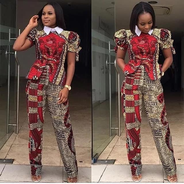 Unique Ankara styles 2017 for business ladies