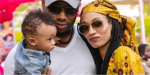 Image result for Di'ja with two babies