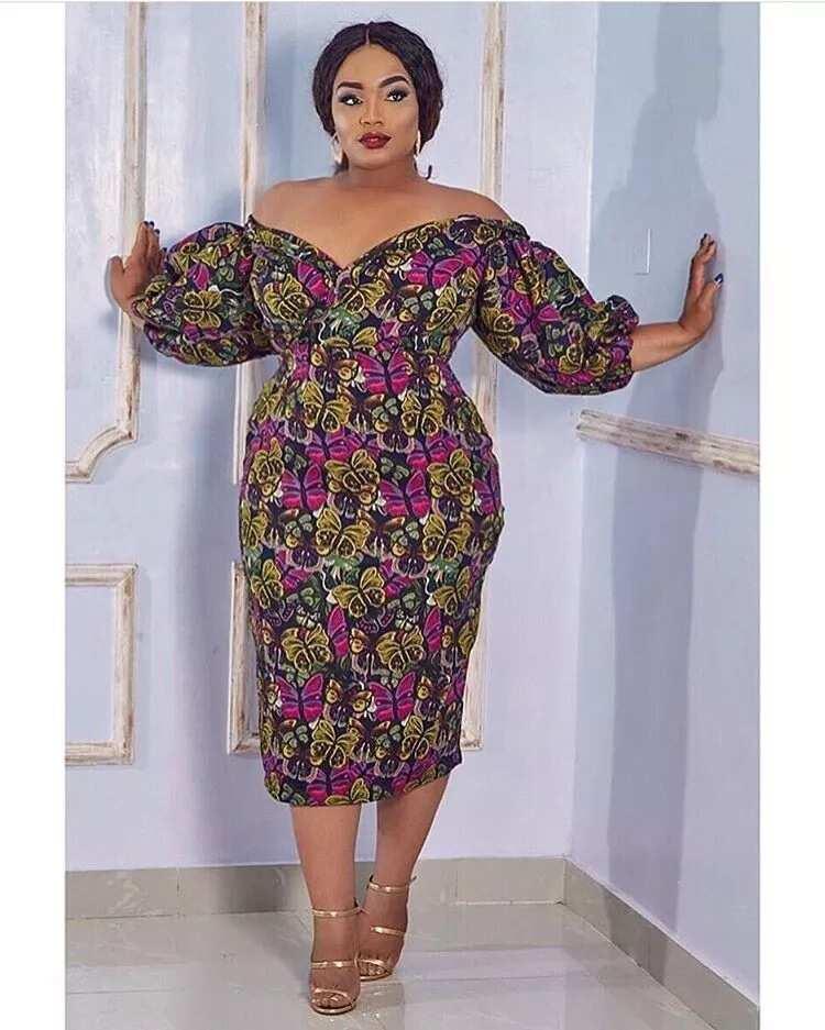 Ankara styles for plus size ladies in 2018