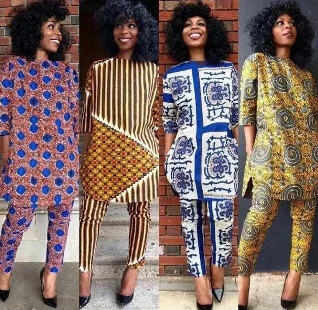 Fashion in Nigerian traditional styles - Ankara 2