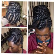 cute african cornrow braid hairstyles