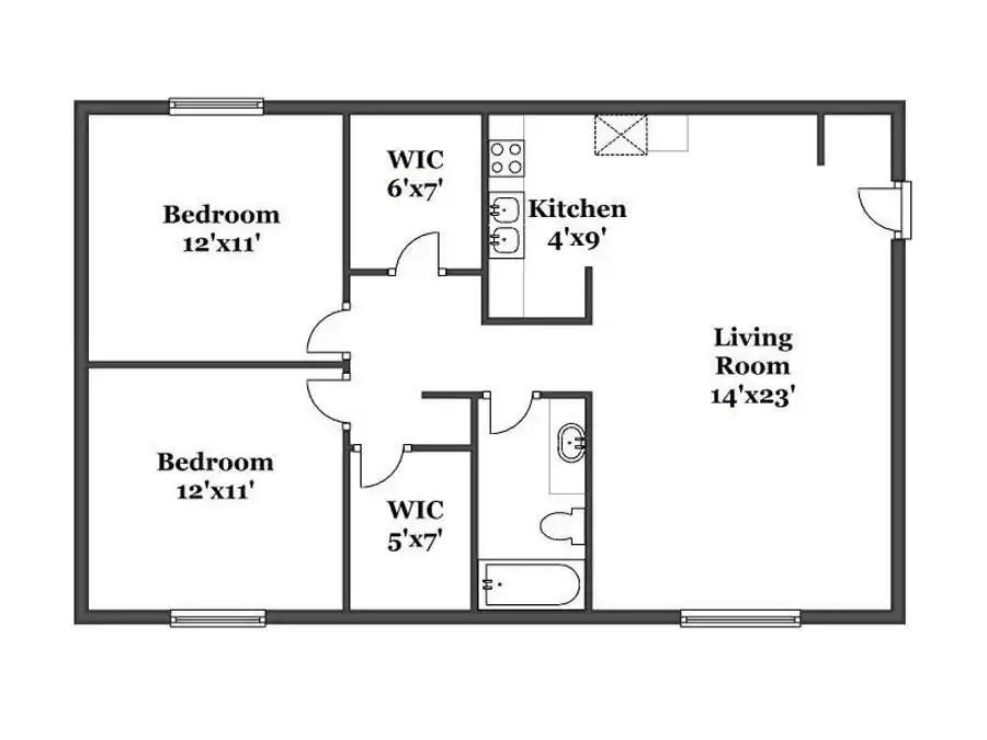 Simple Two Bedroom House Plans In Kenya Tuko Co Ke