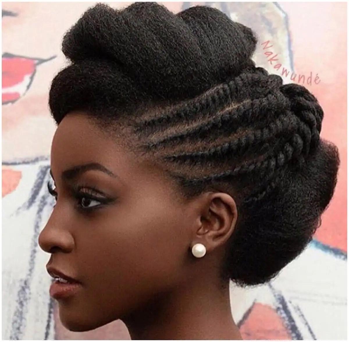 30 gorgeous twist hairstyles for natural hair Tukocoke