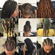 easy hairstyles braids african