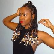 cute african cornrow braid hairstyles