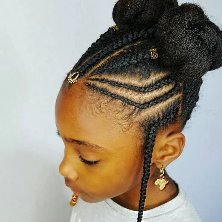 Simple Cornrow Braid Hairstyles For Natural Hair Tuko Co Ke