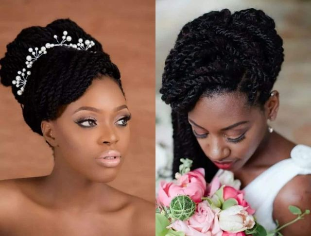 latest best wedding hairstyles in kenya and nigeria
