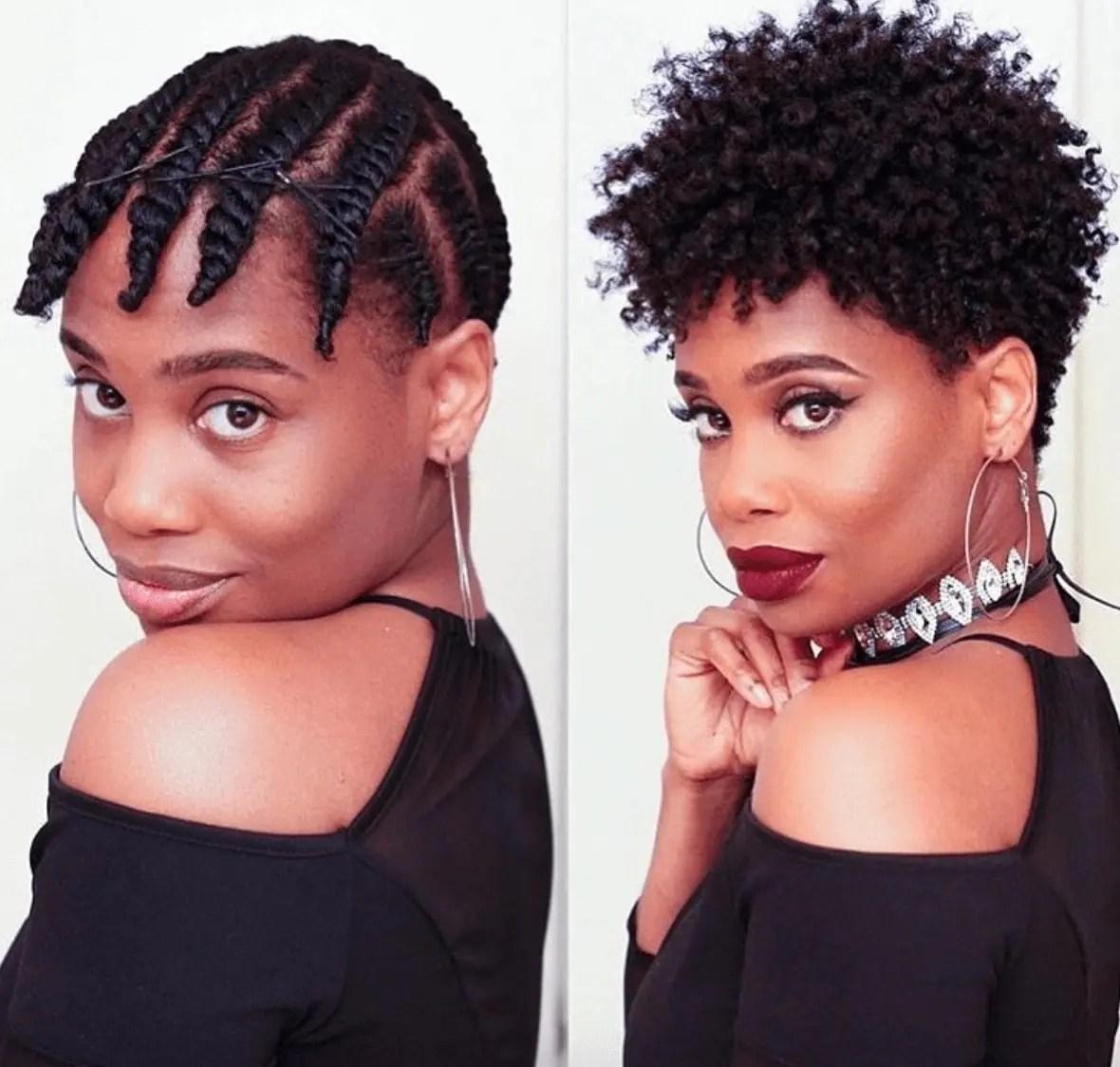 Kenyan Hairstyles For Short Hair Tuko Co Ke