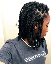 cute kinky twist hairstyles