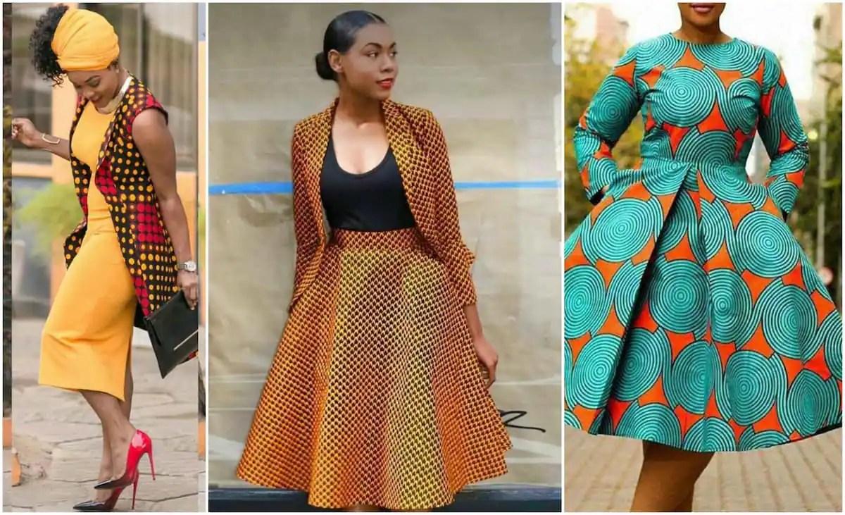 Nice Formal African Print Dresses Styles In 2019 Tuko.co.ke