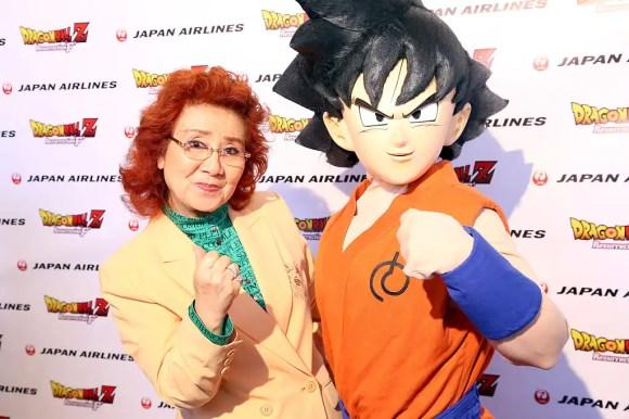 masako nozawa goku