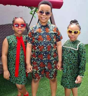 Ankara styles for children 2021: photos of the different styles