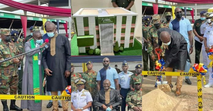 Ken Agyapong cardio centre at 37 Military Hospital