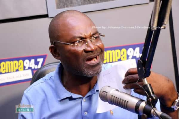 5 photos of Kennedy Agyapong which proves he is a human Emoji