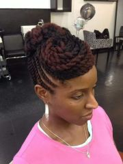 natural hair twist styles long