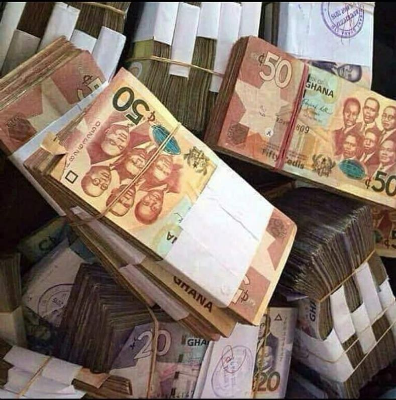Image result for people with ghana cedi notes