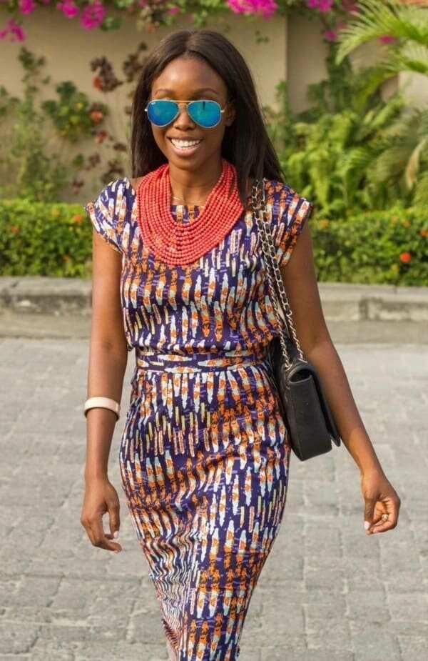 African straight dress styles 2018 YEN.COM.GH