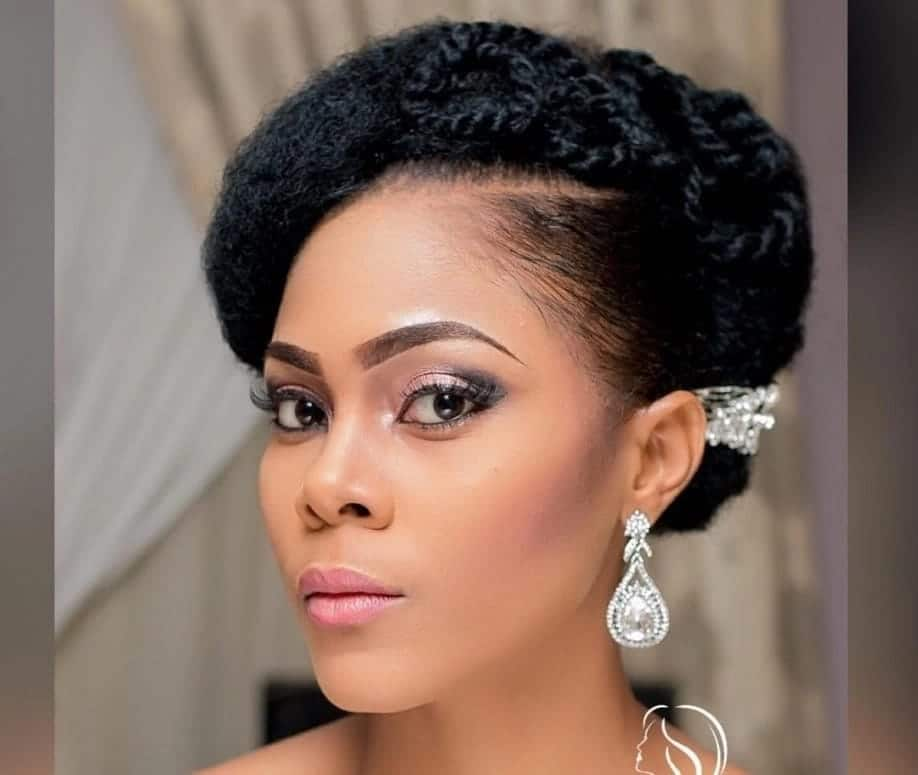 African Natural Hairstyles For Wedding In Ghana In 2019 Yen Com Gh