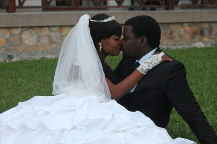 Dzidzor Mensah shares throwback photos kissing John Dumelo