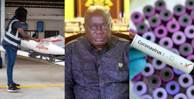 Ghana Becomes 1st Nation Using Drone Technology for COVID-19 Testing