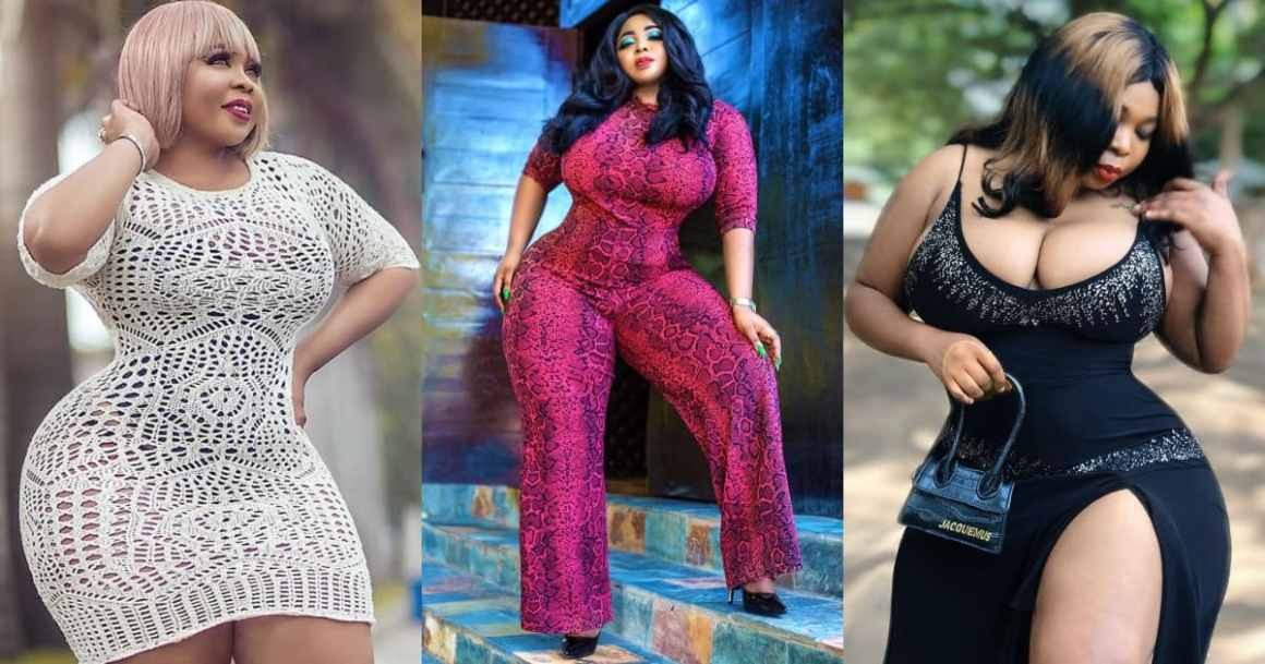 Purfcie Conna: 9 photos of beautiful Kumawood actress as she celebrates birthday