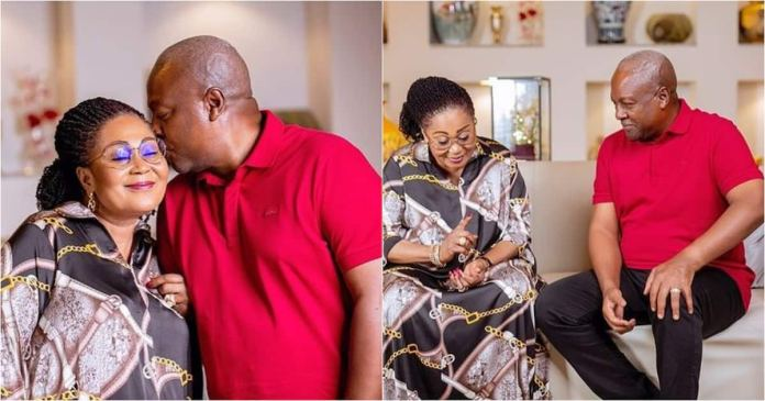 Lordina: John Mahama Celebrates WIfe's Birhtday With Lovely Photos and Message