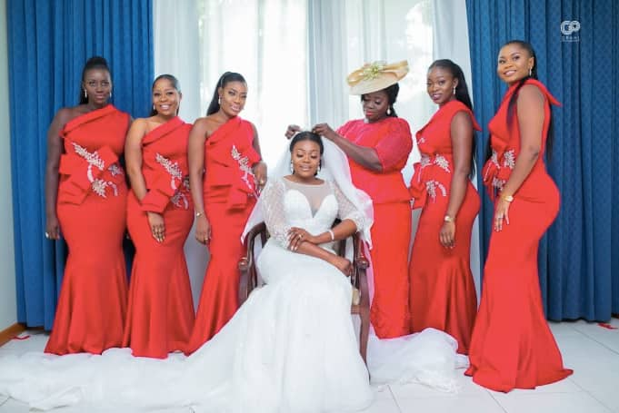 Colourful photos from NPP deputy Communications Director Kofi Agyepong wedding ceremony