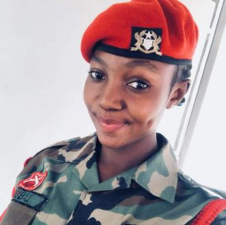 Meet Yakubu Shahada, the female military officer whose beautiful photos are causing confusion on social media