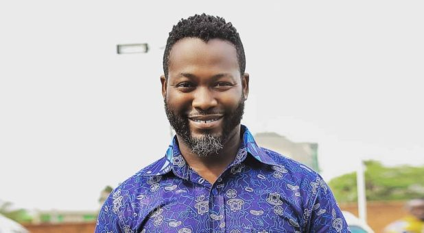 e622e7af119c5336 - Adjetey Anang Shows He's Not Only Good At Acting; Gives His Son a 'CORRECT' Haircut On Father's Day(Video)