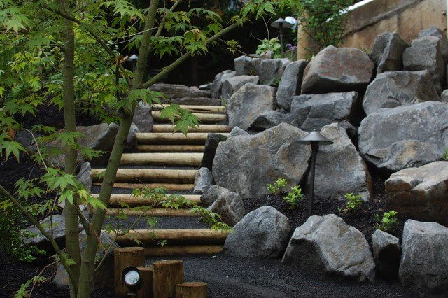 Interessante Gartentreppe Inspirationen )  Nettetippsde