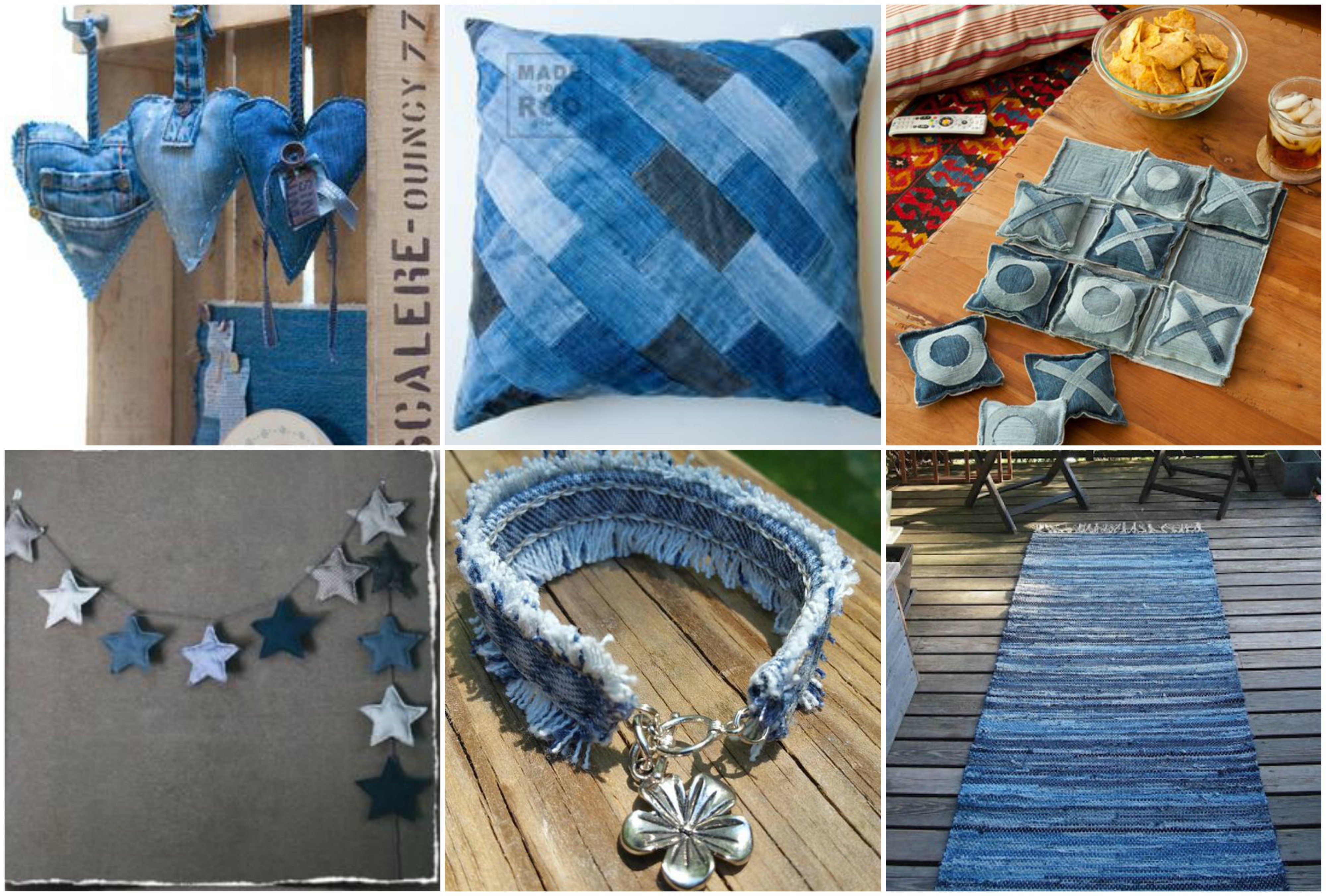 15 Tolle Upcycling Ideen Aus Alten Jeans