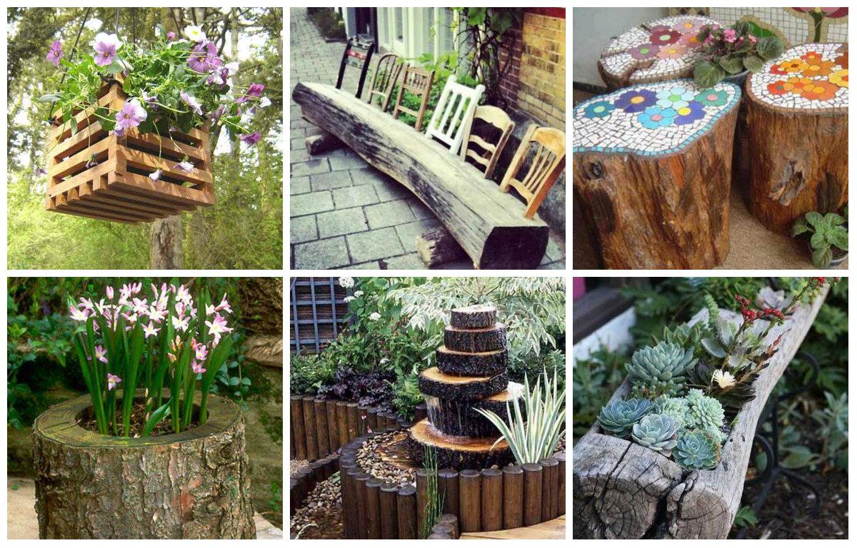 25 Garten Projekte fr einzigartige HolzDekoration