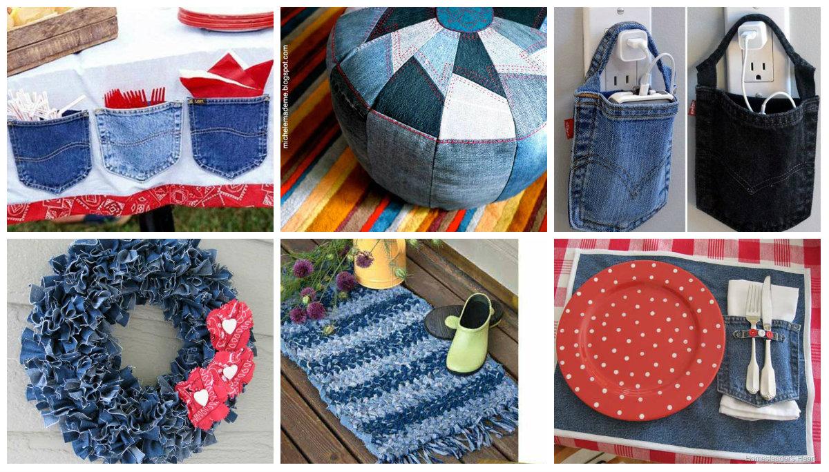 30 tolle Ideen zum Jeans Upcycling  nettetippsde