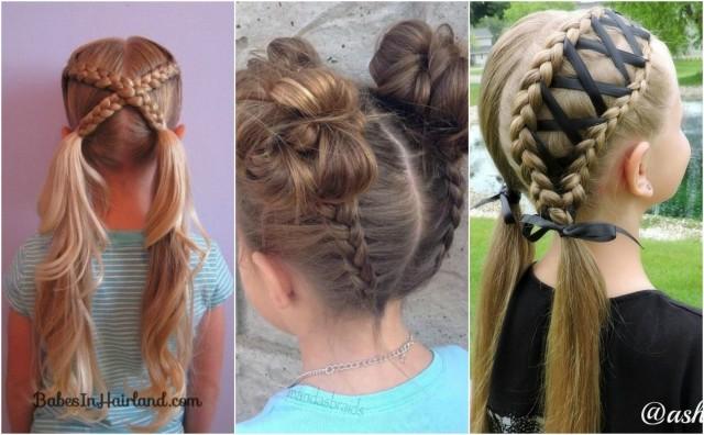 Einfache Und Hübsche Frisuren Für Mädchen Nettetipps De