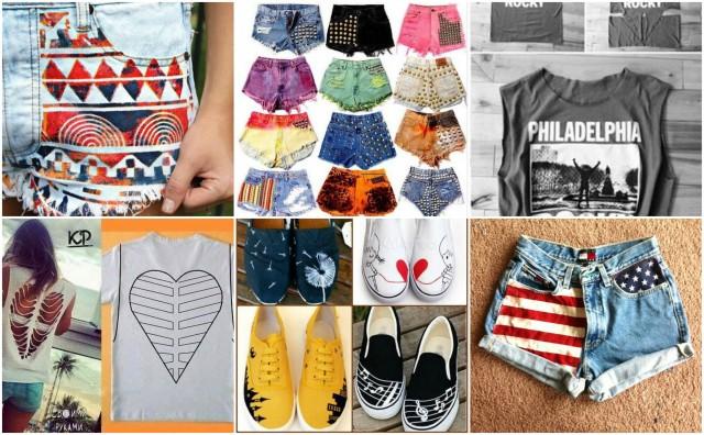 Alte Kleidung im Handumdrehen aufpeppen - 15 geniale Ideen